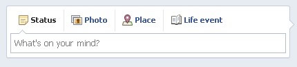 facebook-status-box-for-profile