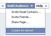 Facebook Advertise Link
