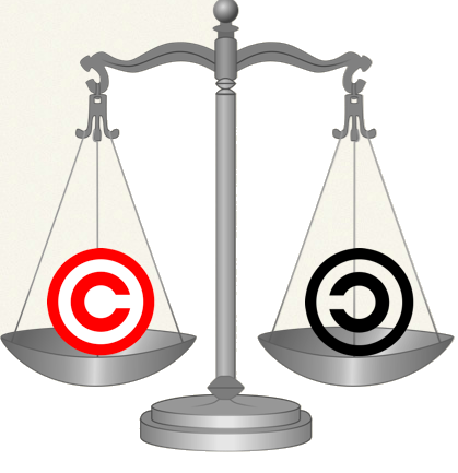 Copyright Justice Scales