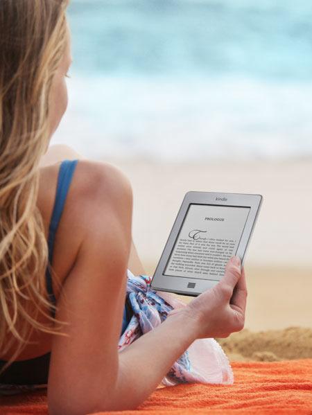 Kindle on the Beach