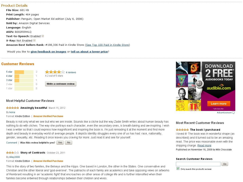 Amazon Comments