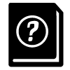 question-book-black-100x100
